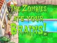 Plants VS Zombies Game Over Screen 1