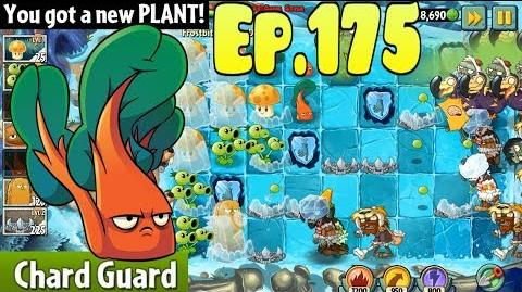 Plants vs. Zombies 2 Got a new Plant Chard Guard - Frostbite Caves Day 11 (Ep