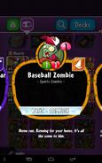 Baseball Zombie info