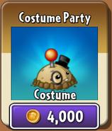 Costume Party Potato Mine