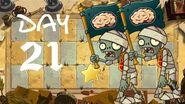 Android Beta 2 PvZ All Stars - Ancient Egypt Day 21