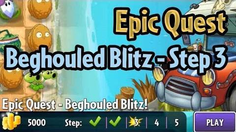 Plants vs Zombies 2 - Epic Quest Beghouled Blitz - Step 3