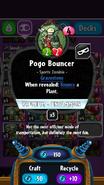 Pogo Bouncer statistics