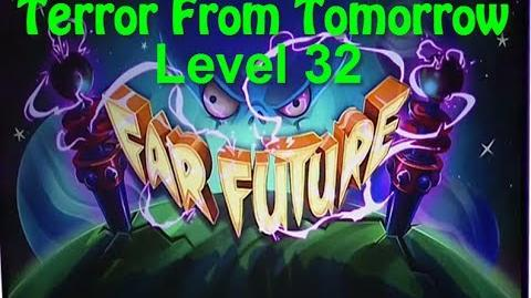 Terror From Tomorrow Level 32 Plants vs Zombies 2 Endless