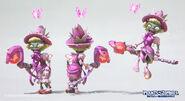 Mirim-lee-wizard-fairygodmother model renders