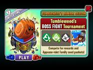 Tumbleweed's Rumble Season -Tumbleweed's BOSS FIGHT Tournament