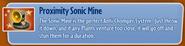 Proximity Sonic Mine
