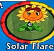 Receiving Solar Flare