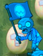 A slowed down Flag Zombie (Springening)