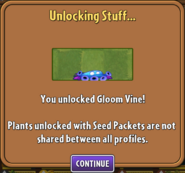 Gloom Vine Unlocked