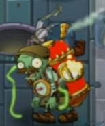 Glowing Furnace Zombie