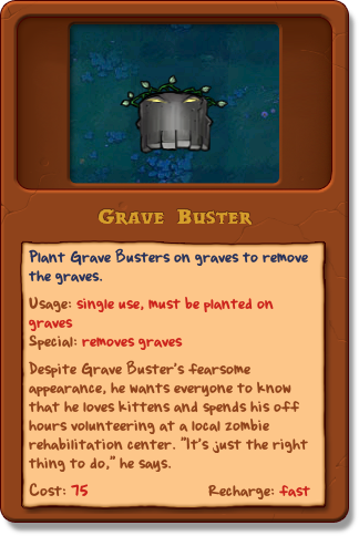 Grave Buster/Gallery