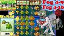 Plants vs. Zombies - New Cabbage-Pult and Night level - Fog 4-9 - Fog 4-10 - Classic PC HD (Ep