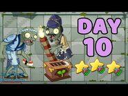 Plants vs Zombies 2 China - Heian Age Day 10《植物大战僵尸2》- 平安时代 10天
