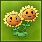 PvZ2 Twin Sunflower