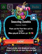 SneezingZombieStats