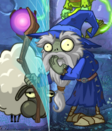 Wizard eat