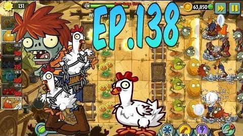 Plants vs. Zombies 2 New Chicken Wrangler Zombie - Wild West Day 10 (Ep