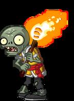 Torch monk zombie