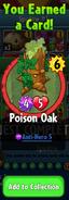 Earning Poison Oak