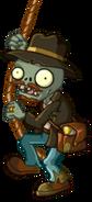 HD Relic Hunter Zombie swinging