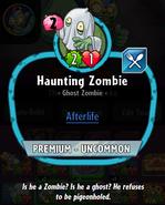 Haunting description