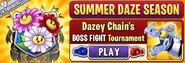 Summer Daze Season - Dazey Chain Boss Fight Tournament (Main Menu)