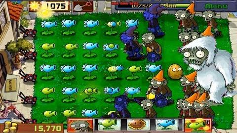 Plants vs. Zombies - Zombie Yeti in Slot Machine walks in circles (Android Gameplay HD) Ep