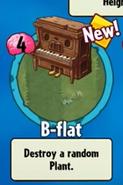 B flat get