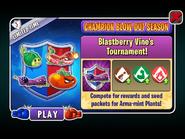 Champion Blow-Out Season - Blastberry Vine's Tournament