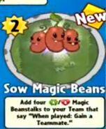 Receiving Sow Magic Beans