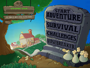 Beta main menu (from game FLA)