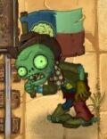 Fainted Flag Cowboy zombie