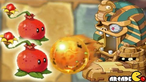 Plants Vs Zombies 2 Online NEW Update Zomboss Battle Vs Pomegranate Pult New Plant