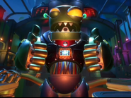 Ultra Zombot giving thumbs up