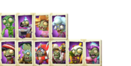 Zombie Cards Textures 1