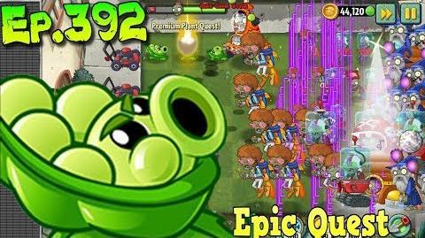Plants vs. Zombies 2 - SLING PEA - Epic Quest - Update 7.0.1 (Ep