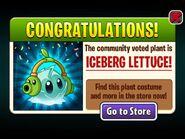 IcebergLettucewithCutePeashooterMitsWins