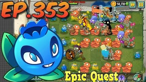 Plants vs. Zombies 2 - ELECTRIC BLUEBERRY - Epic Quest Premium Seeds (Ep
