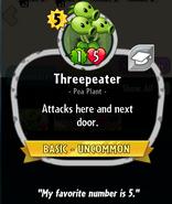 Threepeater Heroes description