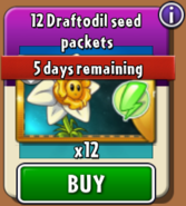 Draftodil Seed Packets cost real money