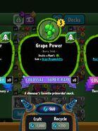 GrapePowerStat
