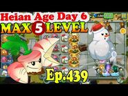 Plants vs. Zombies 2 (China) - Parsnip MAX level 5 - Heian Age Day 6 (Ep