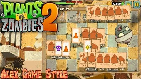 Plants vs. Zombies 2 Match symbols to destroy the zombies Ancient Egypt Day 16 (Ep