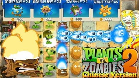 Plants vs. Zombies 2 (Chinese version) Torchwood Power-Up Ancient Egypt Day 13 (Ep