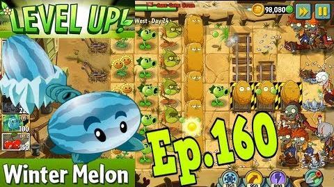 Plants vs. Zombies 2 Got a new Plant Winter Melon - Wild West Day 24 (Ep