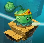 Cabbage-pult on map with 2nd costume