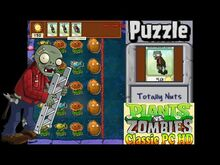 Plants vs. Zombies Totally Nuts Puzzle Classic PC HD (Ep