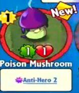 Receiving Poison Mushroom