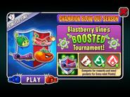 Champion Blow-Out Season - Blastberry Vine's BOOSTED Tournament